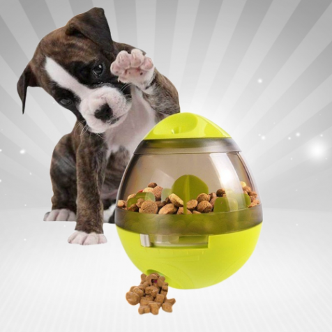Interactive Food Dispensing Dog Toy