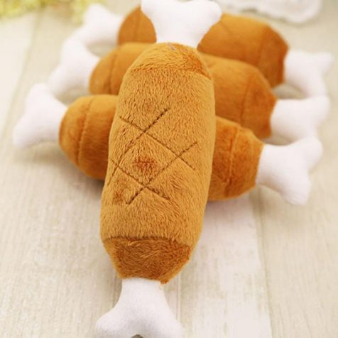 Chicken Legs Squeaky Toy