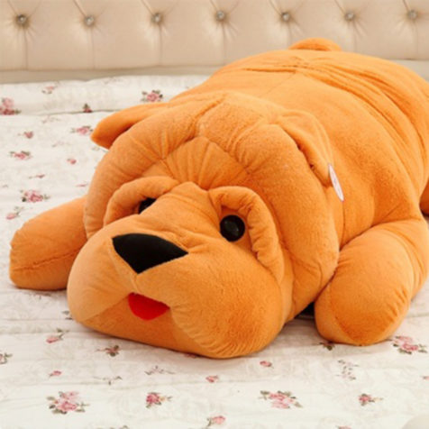 Big Stuffed Dog Plush Toy